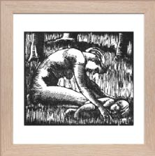 Wood Nymph Signed - Ready Framed
